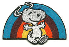 Snoopy Rainbow patch image