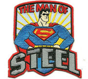 Superman patch image