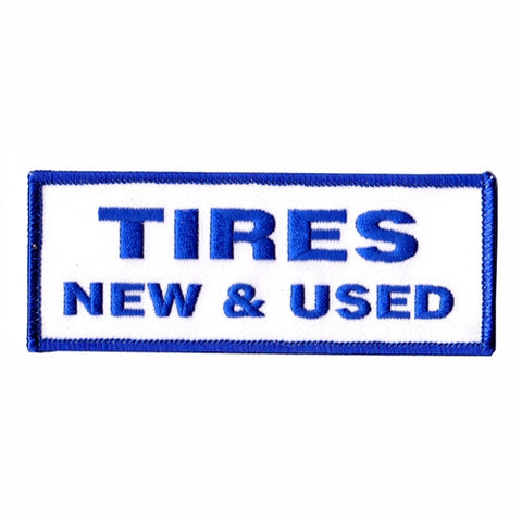 tires new and used patch image