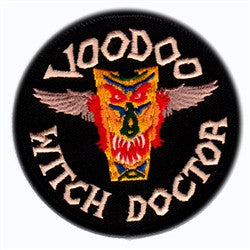 voodoo witch doctor patch image