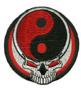 yin yang skull - Patch Club
