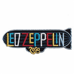 led zeppelin blimp patch image