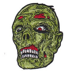 zombie head patch image