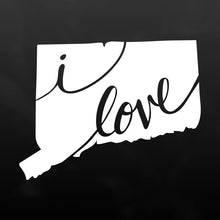 Connecticut Vinyl Decal Sticker