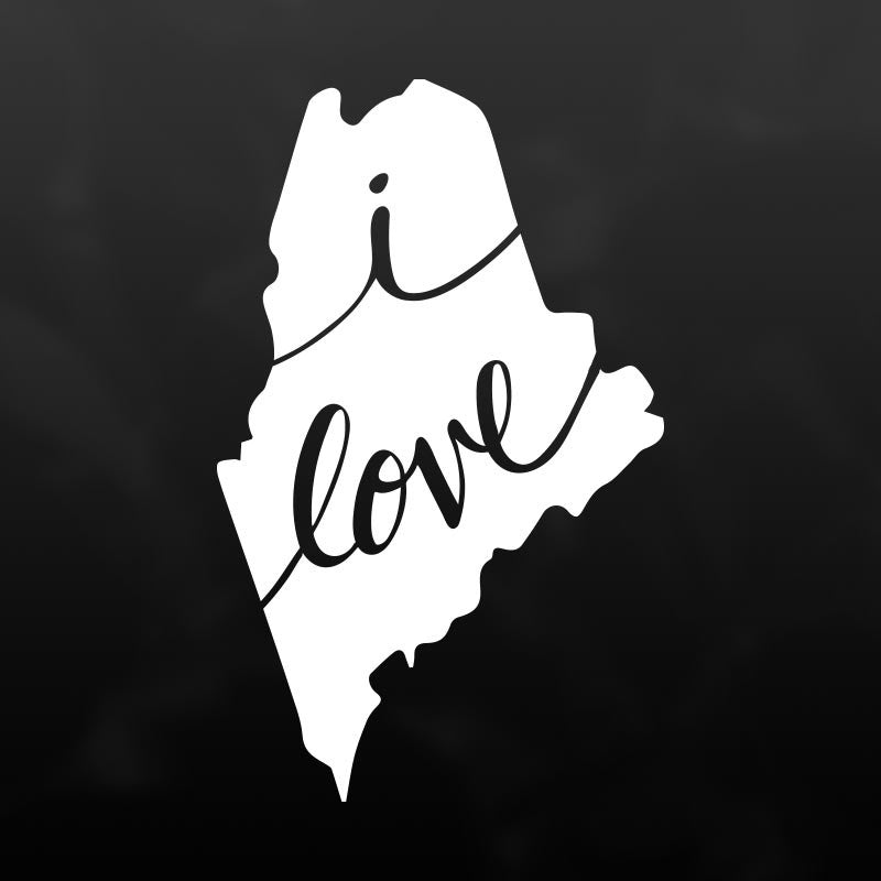 Maine Vinyl Decal Sticker