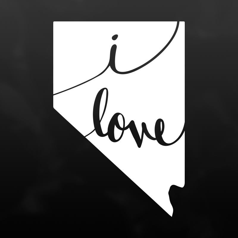 Nevada Vinyl Decal Sticker