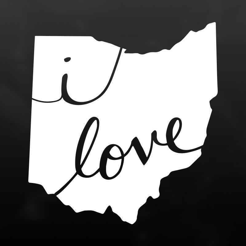 Ohio Vinyl Decal Sticker