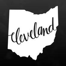 Cleveland, Ohio Vinyl Decal Sticker