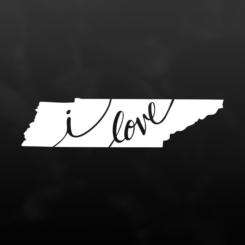Tennessee Vinyl Decal Sticker
