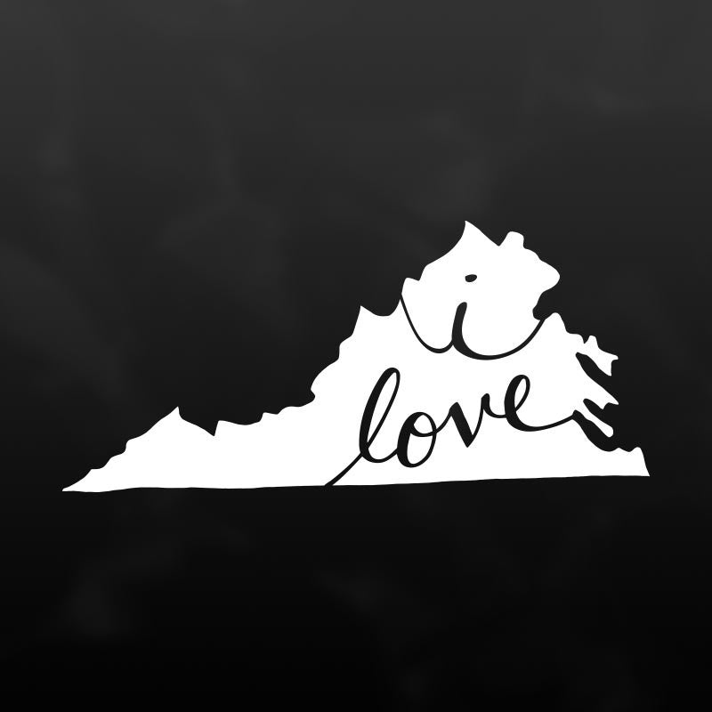 Virginia Vinyl Decal Sticker