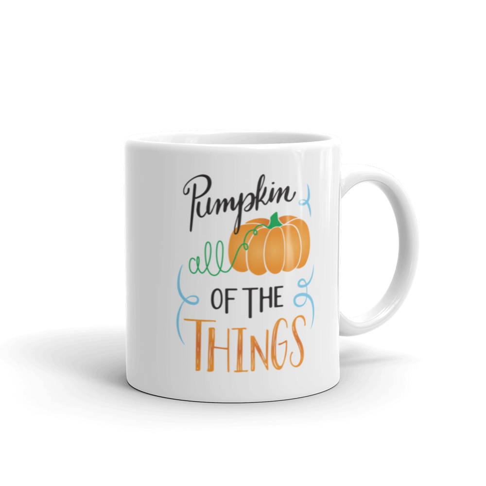 Pumpkin All of the Things Mug