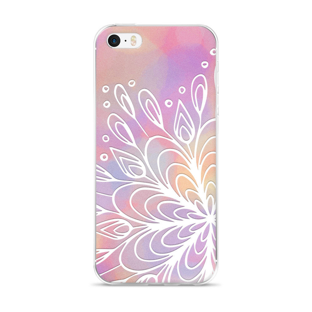 Water Mandala iPhone Case