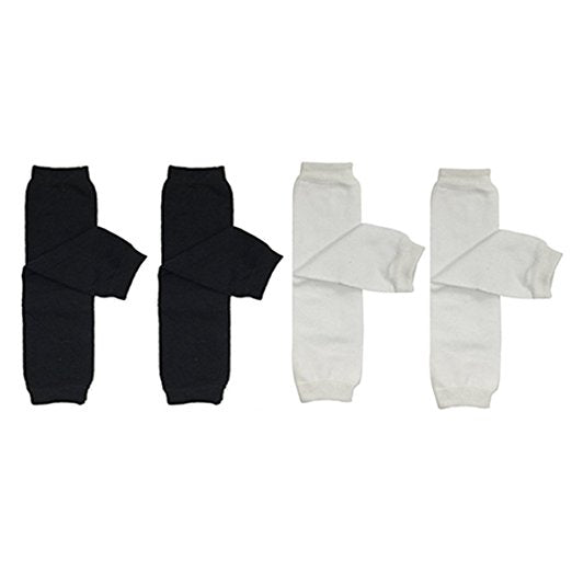 Baby & Toddler Solid Leg Warmer Set