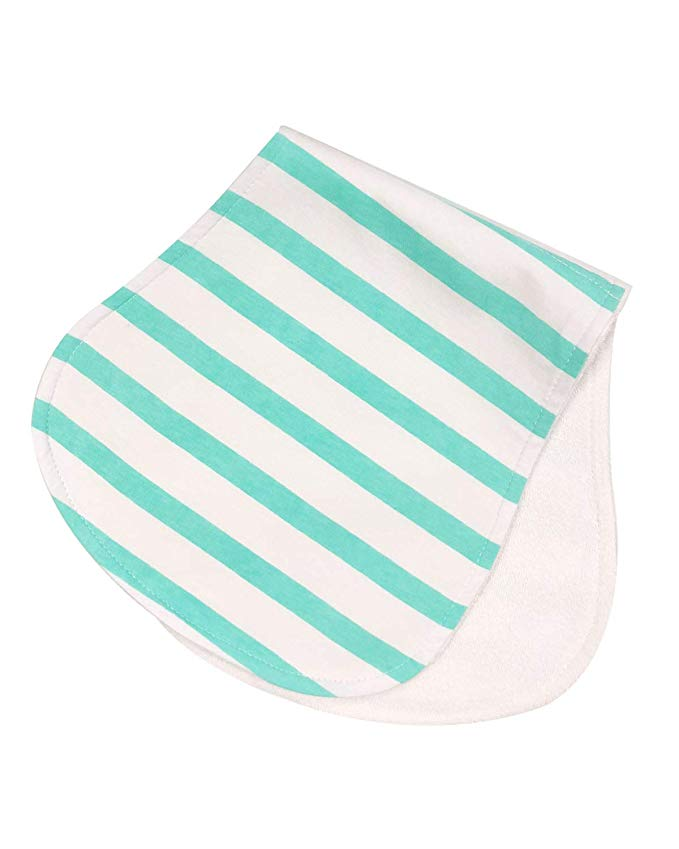 Whimsy Cotton & Microfeece Baby Burp Cloths (5 Pack)