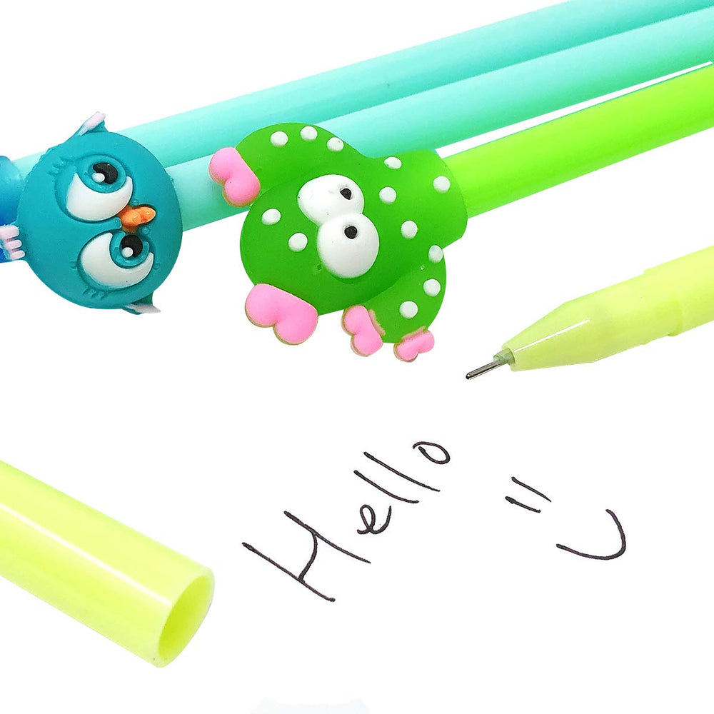 Cactus Gel Pens (set of 12)