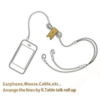 Adjustable Earphone Cord Wrap Cord Organizer (set of 6)