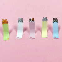 Kitty Bookmark Flags Stationery Kitty Sticky Note Tabs (set of 2)