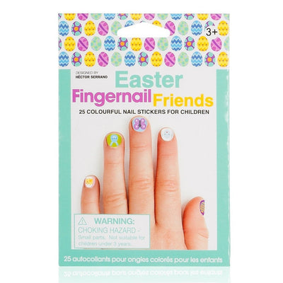 Fingernail Friends Scented Nail Stickers, Easter (50 stickers)