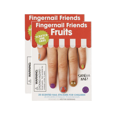 Fingernail Friends Nail Stickers, Scratch & Sniff Fruits