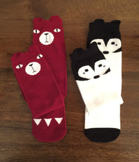 Zoo Fun Animal Children's Tube Socks (set of 6)