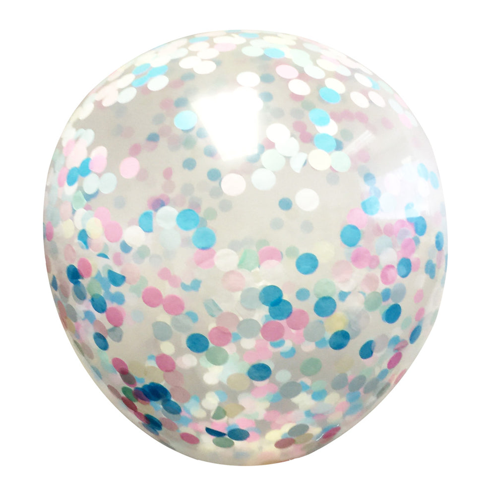 "40"" Clear Balloons Giant Latex Balloons (set of 5)"