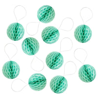 "Mini 2"" Tissue Paper Honeycomb Balls (set of 10)"