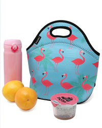Flamingo Neoprene Lunch Tote