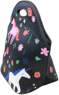 Unicorn Neoprene Lunch Tote