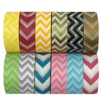 Chevron Washi Tapes Set (ADSET16), set of 12