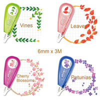Nature Decorative Correction Tape Pens Novelty Stationery Supply (set of 4)
