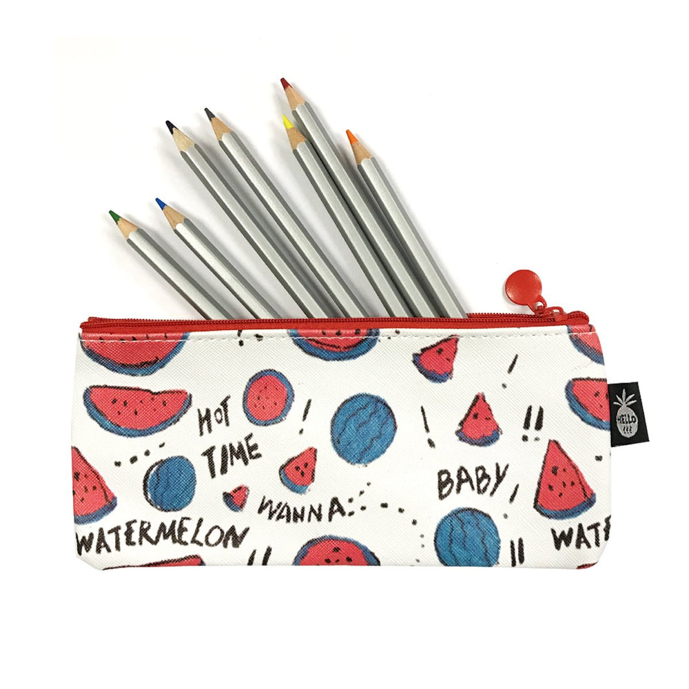 Tasty Snacks Pencil Pouch/Makeup Bags (Set of 3), Summer