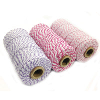 Cotton Baker's Twine 12ply 330 Yards (Set of 3 Spools x 110 Yards)