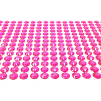 6mm Self Adhesive Stick-on Crystal Diamond Rhinestones (500 pieces)