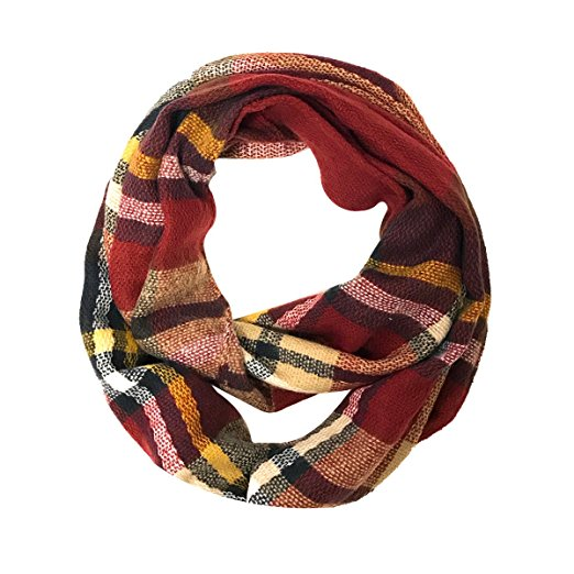 Plaid Infinity Scarf & Long Scarf