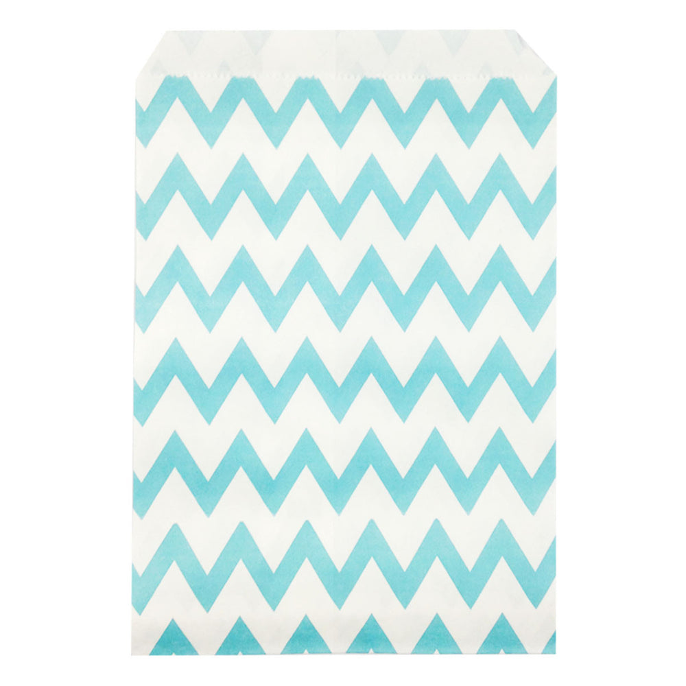 Chevron Paper Favor Bags (set of 25)