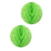 "Tissue Paper Honeycomb Balls, 16"" (set of 2)"