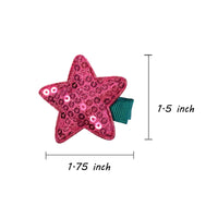 Twinkle Twinkle Hair Clips (set of 6)