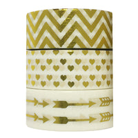 Love is Love Gold Foil Washi Tapes (set of 3)