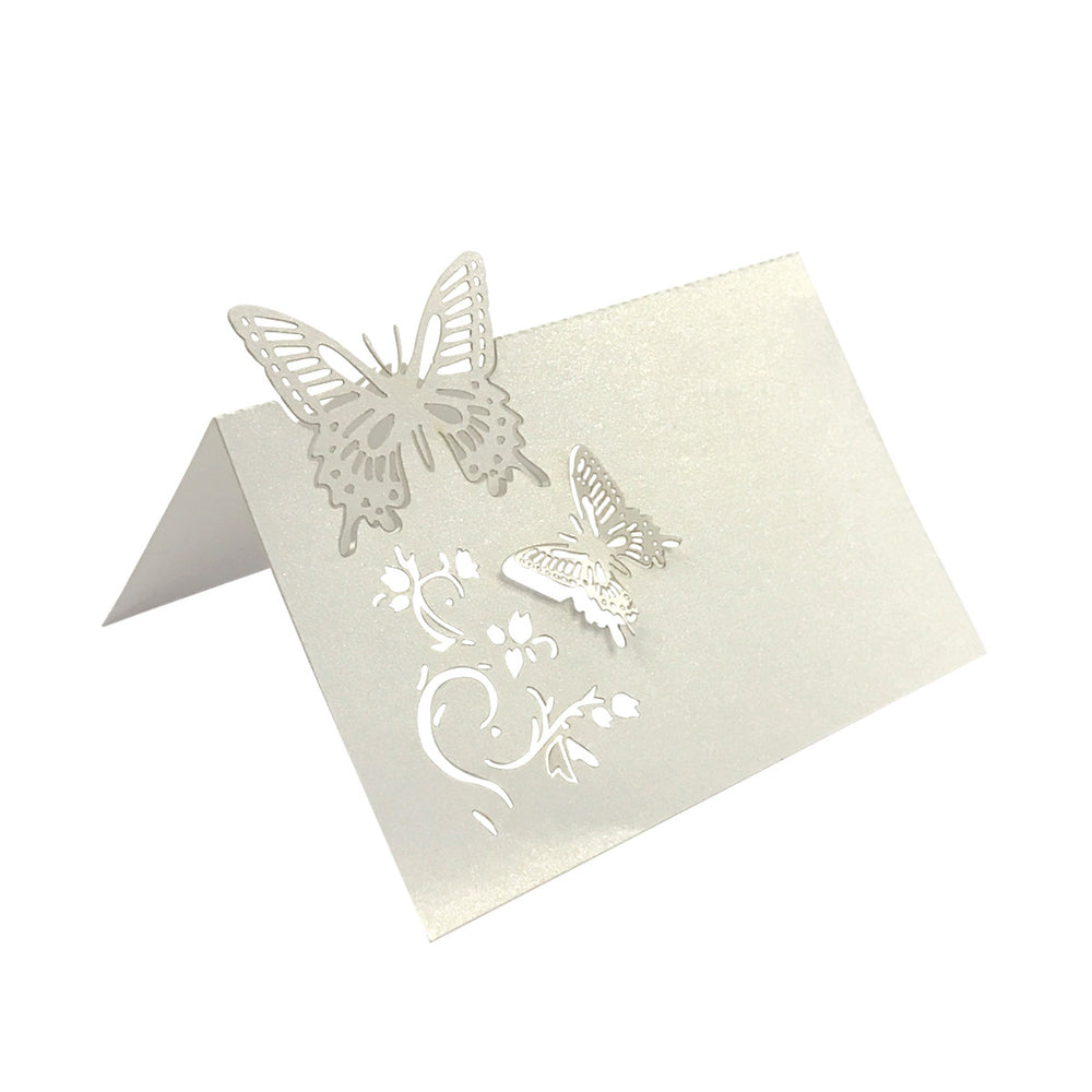 Laser Cut Wedding Table Setting Place Cards (Set of 50)