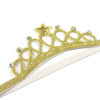 Princess Tiara Crown Headbands (set of 2)