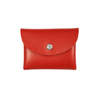 Multicolor Envelope Coin Pouch Leather Card Case (Set of 4)