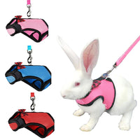 Rabbit Soft Bow Harness and Leash