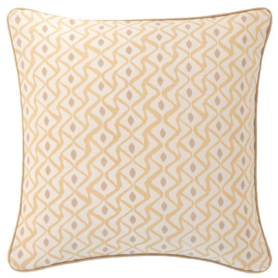 Albero Linen Semolina Decorative Pillow