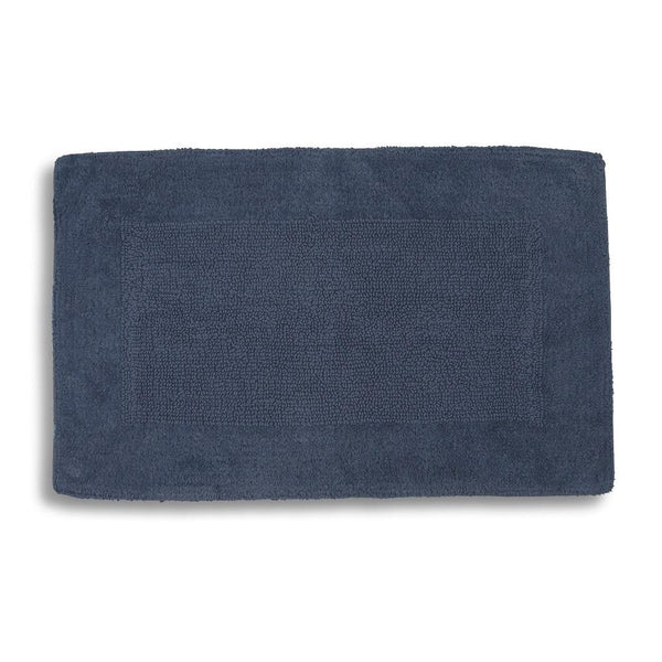 Kyoto Bath Rug | Ink Blue