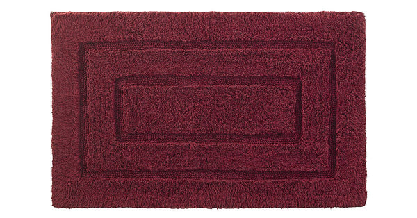 Kassadesign Bath Rug | Garnet Red