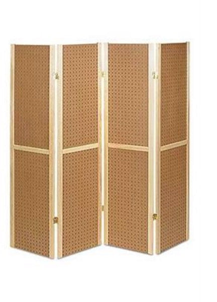 5ft Floor Pegboard Retail Display - Dusty Junk.com