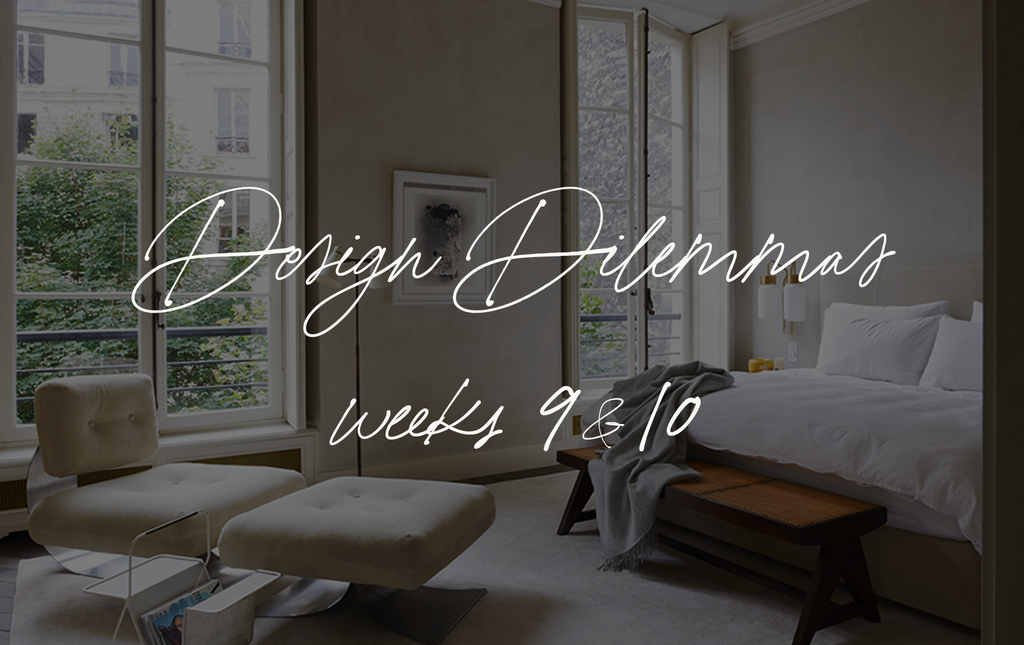 Design Dilemmas | Weeks 9 & 10