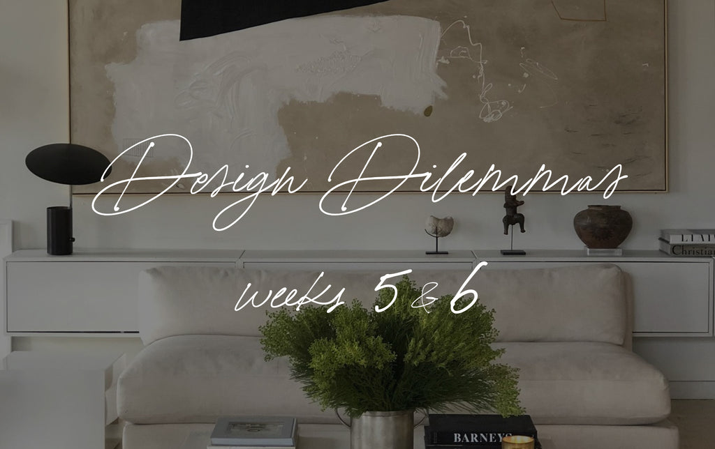 Design Dilemmas | Weeks 5 & 6