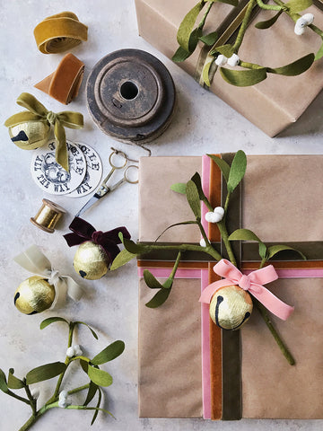 Hand wrapped gifts