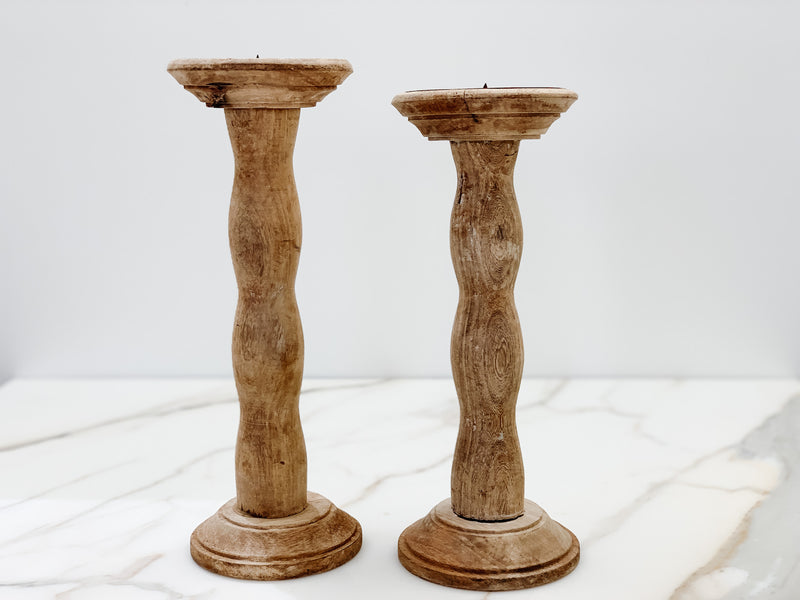 Swedish Candlesticks - set of 2